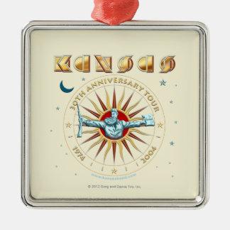 KANSAS - 30th Anniversary Metal Ornament