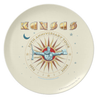 KANSAS - 30th Anniversary Plate