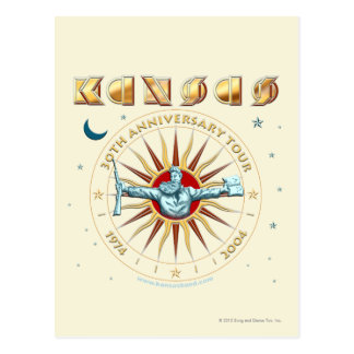 KANSAS - 30th Anniversary Post Card