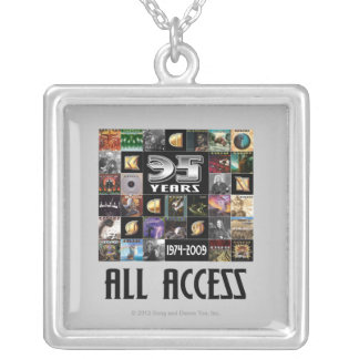 KANSAS - 35th Anniversary Silver Plated Necklace
