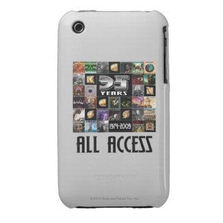 KANSAS - 35to aniversario iPhone 3 Cárcasas