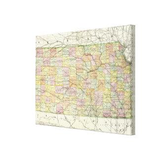 Kansas 3 canvas print