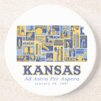 Kansas - Ad Astra Per Aspera - Coaster