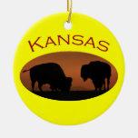 Kansas Adorno De Navidad