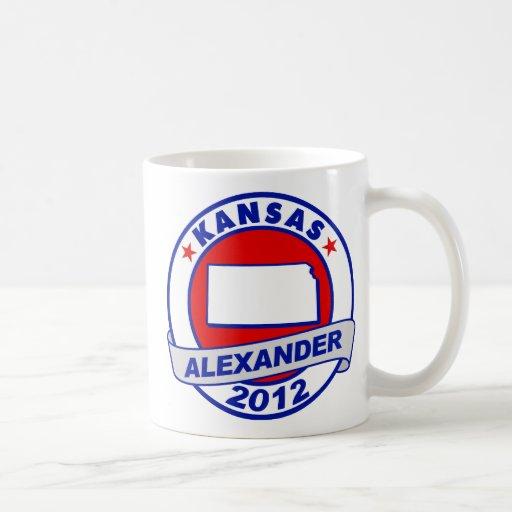 Kansas Alexander Taza Básica Blanca