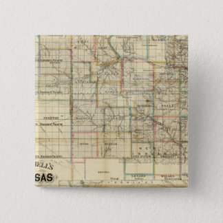 Kansas and The Gold Mines Pinback Button