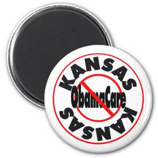 Kansas Anti ObamaCare – November's Coming! 2 Inch Round Magnet