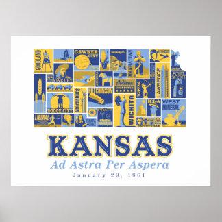 Kansas - anuncio Astra por Aspera - poster