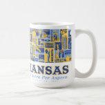 Kansas - anuncio Astra por Aspera - taza