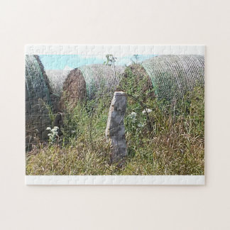 Kansas Back Roads Jigsaw Puzzle