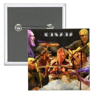 KANSAS Band Photo (2012) 2 Inch Square Button