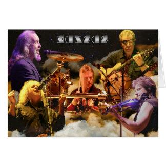 KANSAS Band Photo (2012) Card