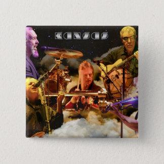 KANSAS Band Photo (2012) Pinback Button
