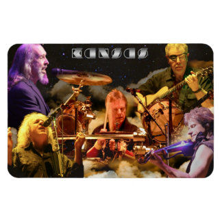 KANSAS Band Photo (2012) Rectangular Photo Magnet