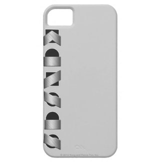 KANSAS (Black and White) iPhone 5 Covers