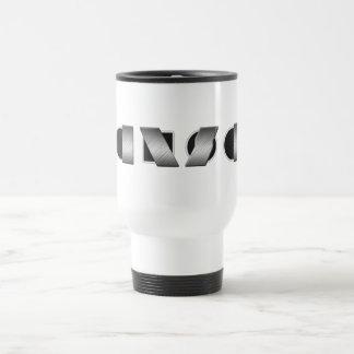 KANSAS (Black and White) Travel Mug