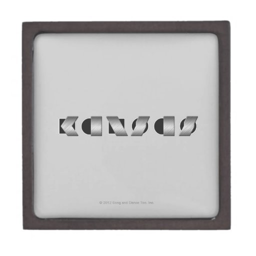 KANSAS blanco y negro Cajas De Recuerdo De Calidad