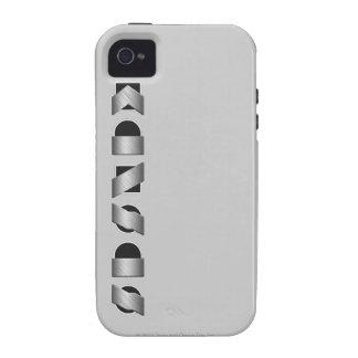 KANSAS blanco y negro Vibe iPhone 4 Funda