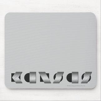 KANSAS (blanco y negro) Alfombrilla De Raton