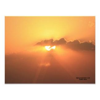 Kansas Blaze Orange Sunset Photo