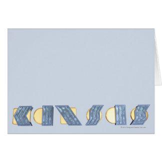 KANSAS (Blue and Gold) Card