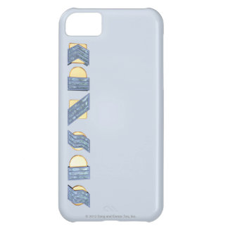 KANSAS (Blue and Gold) Cover For iPhone 5C