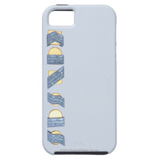 KANSAS (Blue and Gold) iPhone SE/5/5s Case