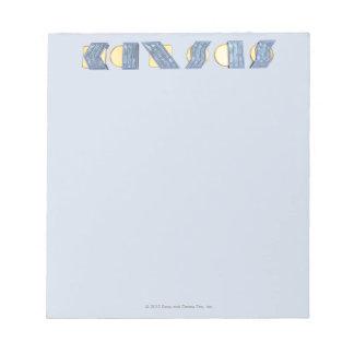 KANSAS (Blue and Gold) Notepad