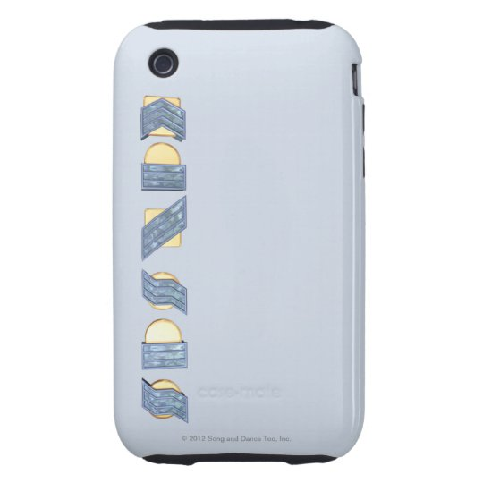 KANSAS (Blue and Gold) Tough iPhone 3 Cover