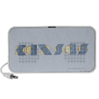 KANSAS (Blue and Gold) Travel Speaker