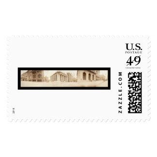Kansas City 10th St. Photo 1909 Postage Stamps