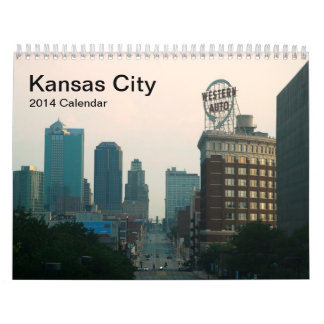 Kansas City 2014 Wall Calendar
