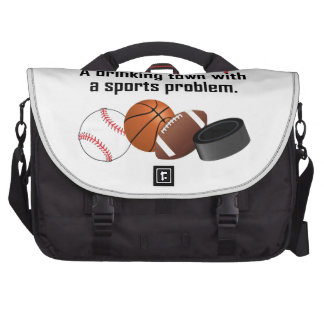Kansas City A Drinking Town With A Sports Problem Laptop Commuter Bag
