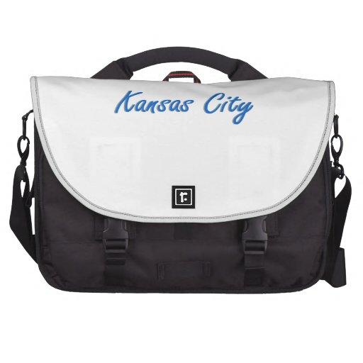 Kansas City Blue and Gray Laptop Bag