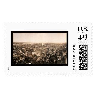 Kansas City Business Photo 1907 Stamps