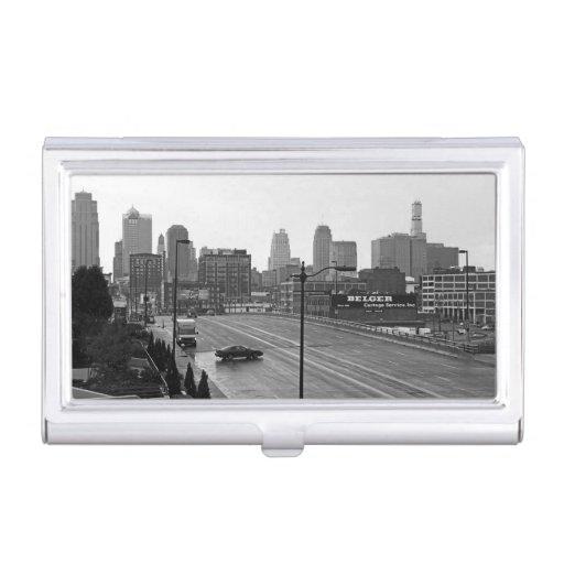 Kansas City céntrico Caja De Tarjetas De Visita