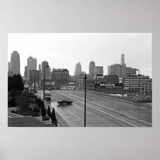 Kansas City céntrico Impresiones