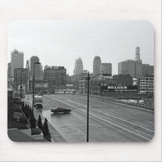 Kansas City céntrico Tapete De Ratones