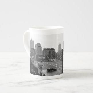 Kansas City céntrico Taza De Porcelana