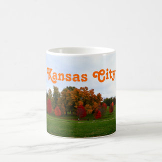Kansas City Colorful Autumn Foliage Coffee Mug