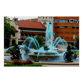 Kansas City Country Club Plaza Poster