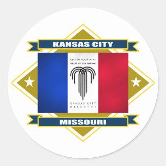 Kansas City Diamond Classic Round Sticker