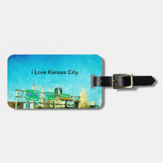 Kansas City Highway Bag Tag