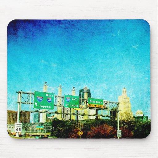 Kansas City Highway Mouse Pad