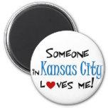 Kansas City Imán De Frigorifico