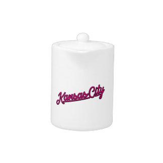 Kansas City in magenta