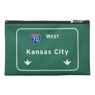Kansas City KC Missouri Interstate Highway Freeway Travel Accessories Bag