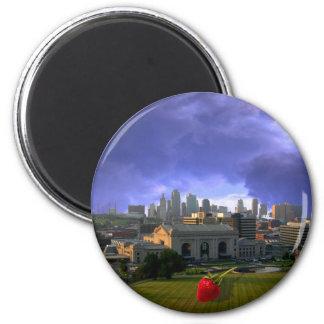 Kansas City Kitchen Art Magnets
