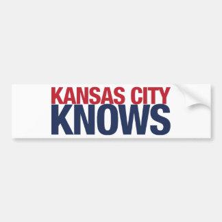 Kansas City Knows Bumper Sticker