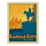Kansas City, MES Tarjetas Postales